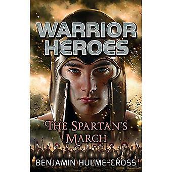 Março do heróis de guerreiro a Spartan (Flashbacks)