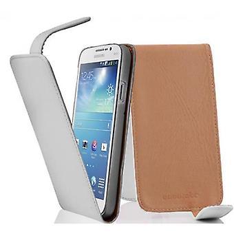 Cadorabo tilfelle for Samsung Galaxy MEGA 5.8 tilfelle tilfelle dekselet - flip telefon veske i glatt faux skinn - Case Cover Beskyttende tilfelle bok folding stil