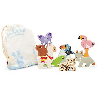 Le Toy Van Petilou Baby Andes Stacker Tower & Bag