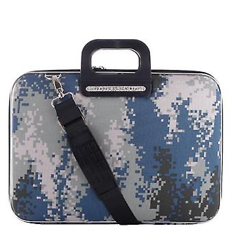 The AVIANO Bombata Briefcase by Fabio Guidoni Messenger Bag - 15 / Gray