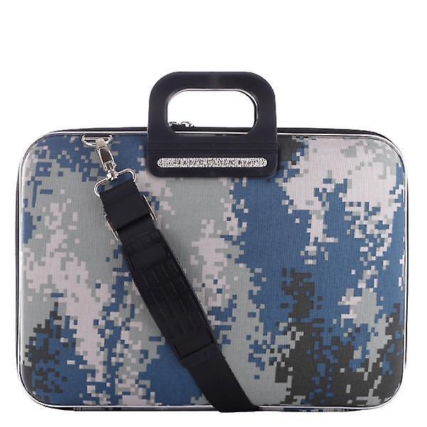 The AVIANO Bombata Briefcase by Fabio Guidoni Messenger Bag - 15 / Gray