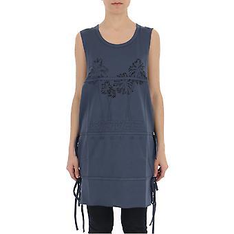 Emboscada 12111665sc17 Mujeres's Vestido de Algodón Gris