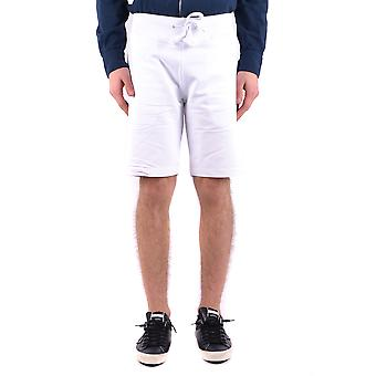 Aeronautica Militare Ezbc047008 Men's White Cotton Shorts