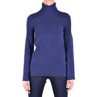 Jacob Cohen Ezbc054183 Damen's Blauer Wollpullover
