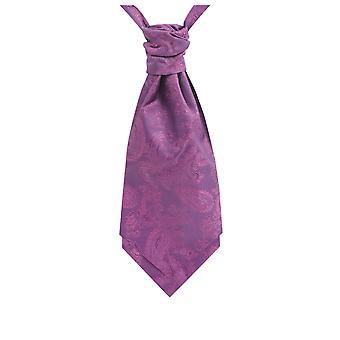 Dobell Boys Purple Paisley Cravat
