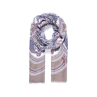 Intrigue Womens/Ladies Self Fringing Paisley Print Scarf