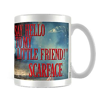 Scarface Say Hello to My Little Friend Mug