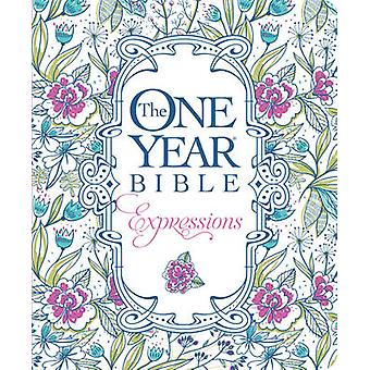 The One Year Bible Creative Expressions - 9781496420169 Book