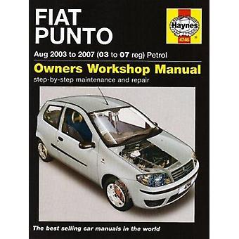 Fiat Punto Petrol (03-07) by R. M. Jex - 9781844257461 Book