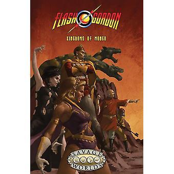 Flash Gordon-2 kongeriger af Mongo hardcover bog
