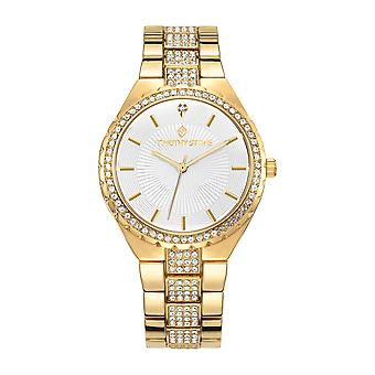 Timothy Stone Women's GALA Gold and White Watch