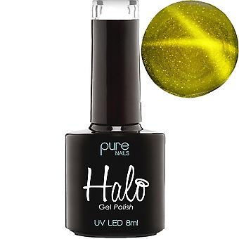 Halo Gel Nails LED/UV Halo Gel Polish - Follow The Star 2018 Collection - Gold 8ml (N2780)