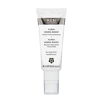 REN Flash hydro-Boost Instant plumping emulsie 40ml