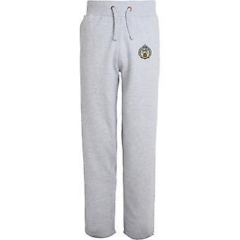 Royal Hamphire Regiment - lizenzierte britische Armee bestickt offenen Hem Sweatpants / Jogging Bottoms