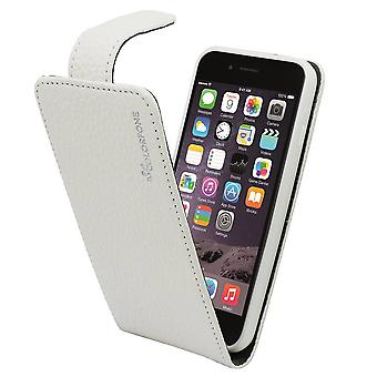 Suncia Leather6 Case cover for Apple iPhone 6 Plus/6s Plus White