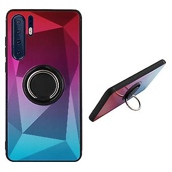Anello di copertura posteriore/magnete Aurora Huawei P30 Pro rosa - Blu