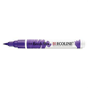 Talens Ecoline Liquid Watercolour Brush Pen - 548 Blue Violet