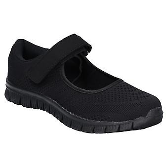 Caravelle Womens Mexico Sporty Comfort Casual Shoe Black