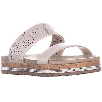 Seven Dials Womens Deanna Open Toe Casual Slide Sandals