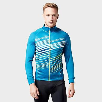 New Dare 2b mænd ' s AEP Expatiate cykling Full zip Jersey blå