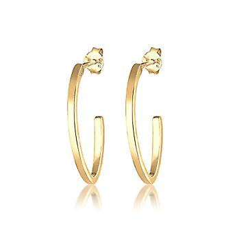 Elli Silver Women's Hoop Earrings 310431317