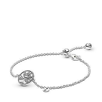 Pandora Donna Silver Bracelet with Charm 597776CZ-16