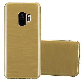 Cadorabo tilfældet for Samsung Galaxy S9 sag Cover-fleksibel TPU silikoneetui Ultra Slim Soft tilbage Cover sag kofanger