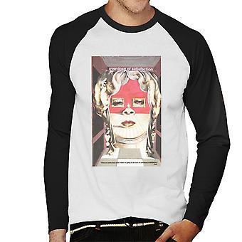 A. P. O. H Salvador Dali overdosis af tilfredshed mænd ' s baseball langærmet T-shirt