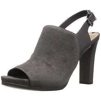 Via Spiga Womens Cara Faux Fur Peep Toe Casual Mule Sandals