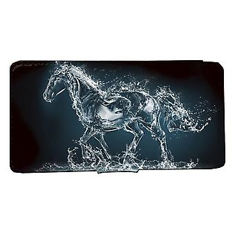 iPhone 7/8 wallet case Water horse shell case