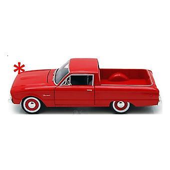 MotorMax American Classics - 1960 Ford Ranchero 1:24 Red