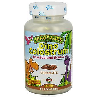 Solaray Dino Colostrum Choco 60 Dinos