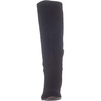 Style & Co. Womens Izalea2 läder mandel tå knä höga mode stövlar