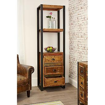 Urban Chic Alcove Bookcase (with drawers) Brown - Baumhaus