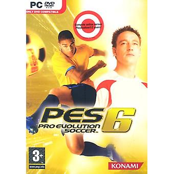Pro Evolution Soccer 6 (PC DVD) - Uusi