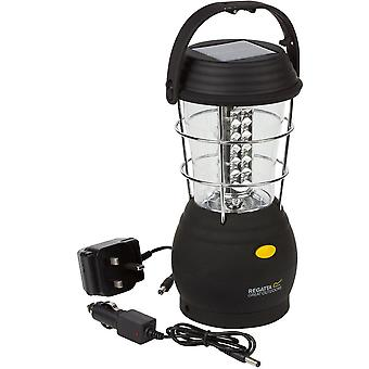 Regatta Helia Solar 36 LED 80 Lumen Bright UK Camping Lantern with Adapter