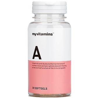 Vitamin A (30 Softgels) - Myvitamins