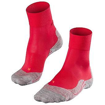Falke kører 4 medium sokker-Rosa pink