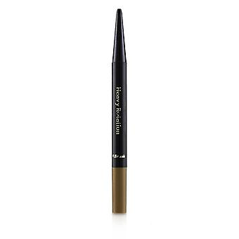 Kiss Me Heavy Rotation Eyebrow Pencil - # 04 Natural Brown - 0.09g/0.003oz