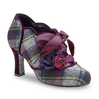 Joe Browns Couture Yazzabelle Tartan Lace-Up Shoes