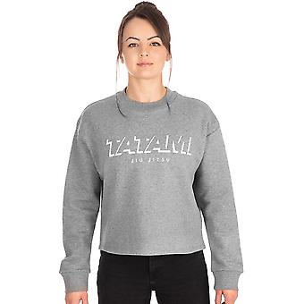 Tatami Fightwear Women-apos;s Cropped Pullover Sweatshirt - Gris