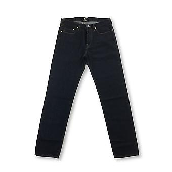 Paul Smith tapered fit raw denim jeans in blue
