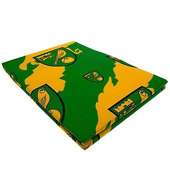 Norwich City FC Single Duvet Set