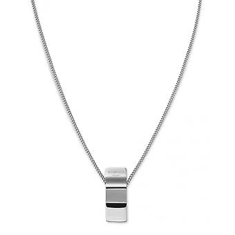 Rosefield BWCNS-J205 necklace and pendant - COLLECTION THE LOIS Colier charm wave Steel Women