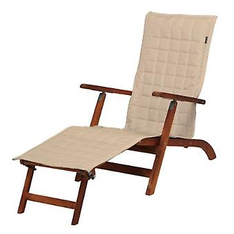 Montlake Fadesafe Patio Steamer Chaise Slipcover, Por Accesorios Clásicos, 69 X 19, Beige Antiguo