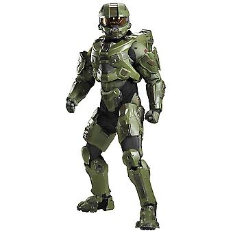 Master Chief Ultra Prestij Halo Oyunu Teen Boys Erkek Kostüm ve Işık Kask kadar