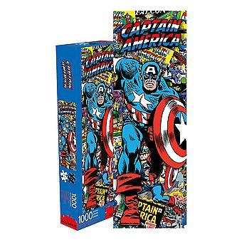 Marvel - captain america collage 1000pc slim puzzle