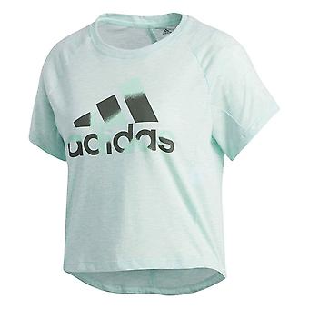 Adidas Boxy Badge OF Sport DU3469 training summer women t-shirt