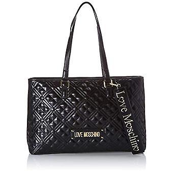 Love Moschino Jc4001pp1a Black Women's Tote Bag (Black) 11x25x39 cm (W x H x L)