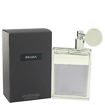Prada eau de toilette spray refillable by prada   459415 100 ml